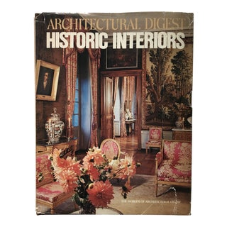 "1979 First Edition ""Architectural Digest Historic Interiors"" Design Book For Sale"