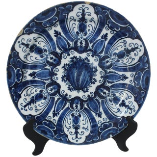 1800 Antique Delft Charger