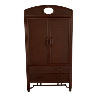 Ficks Reed Armoire For Sale