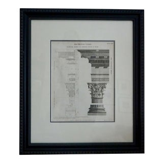 Wilson Lowry 19th Century Architectural Print For Sale