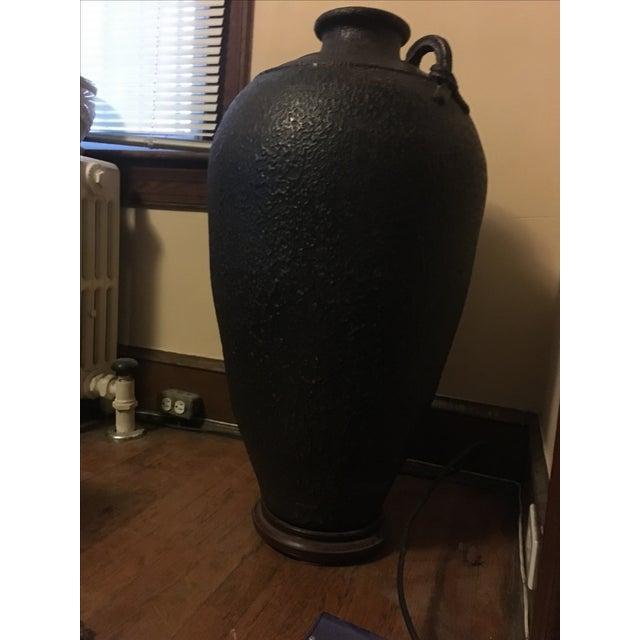 Antique Ceramic Floor Vase - Image 3 of 5