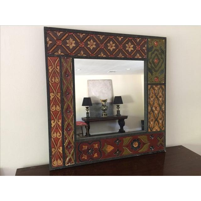 Vintage Wood Mirror - Image 2 of 8