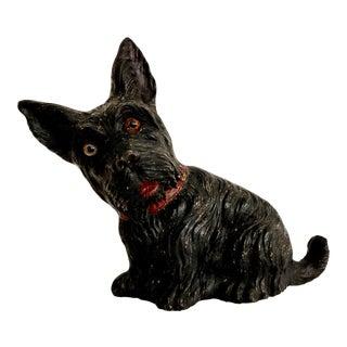 Vintage Scottie Dog Figurine Scottish Terrier For Sale