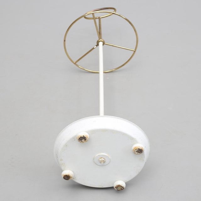 Midcentury Brass Umbrella Stand by Gunnar Ander for Ystad For Sale - Image 4 of 5