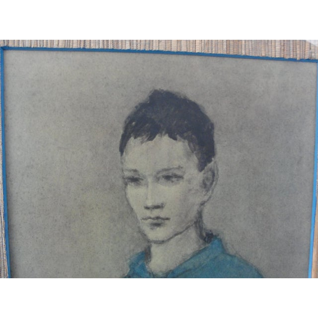 Vintage Lithograph Blue Boy by Pablo Picasso For Sale - Image 5 of 11