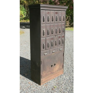1950s Industrial Art Metal Construction Filing Cabinet Preview