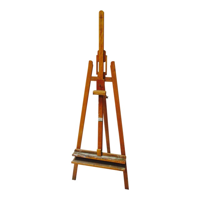 French Standing Wood Easel - Image 1 of 6