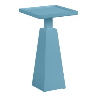 Casa Cosima Hayes Spot Table, Colonial Blue For Sale