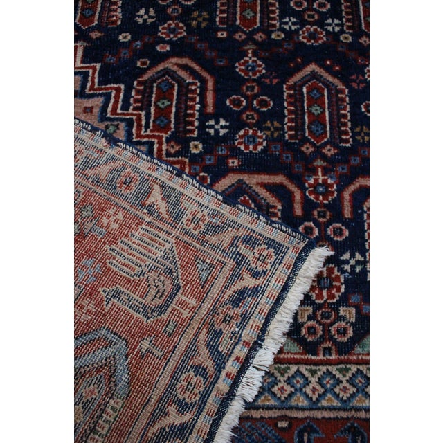 "Vintage Anatolian Turkish Rug - 4'8"" x 7'11"" - Image 6 of 6"