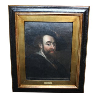 Oil Portrait of Peter Paul Rubens