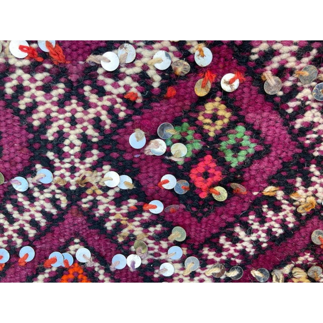 1950s Moroccan African Zemmour Ethnic Textile Rug For Sale - Image 9 of 13