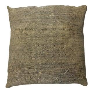 1990s Vintage Silk Cactus Pillow For Sale