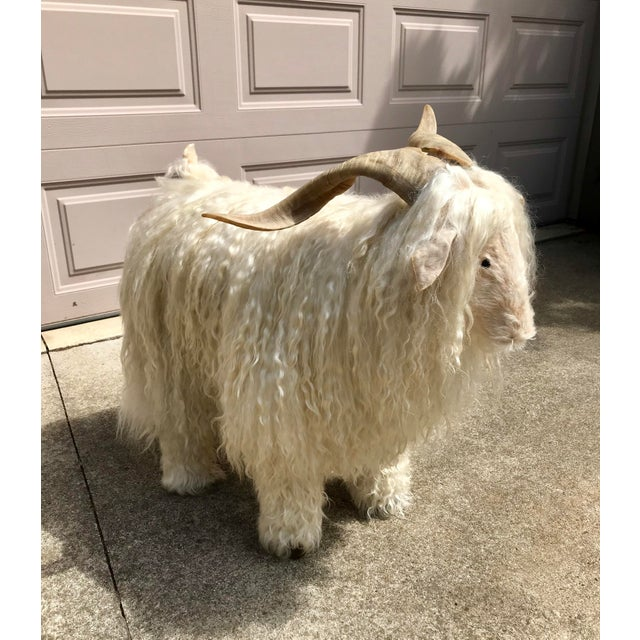 1960s Vintage Claude Lalanne Style Figural Sheep Sculpture / Stool For Sale - Image 10 of 10
