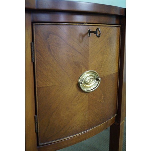 Statton Light Cherry Federal Style Sideboard - Image 9 of 10