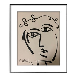 1970s Abstract Portrait by Peter Keil For Sale