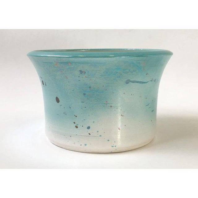 Steve Chase Studio Ceramic Planter by Gary McCloy for Steve Chase For Sale - Image 4 of 8