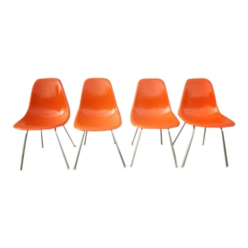 Mid-Century Herman Miller Shell Chairs - Set of 4 - Image 1 of 3