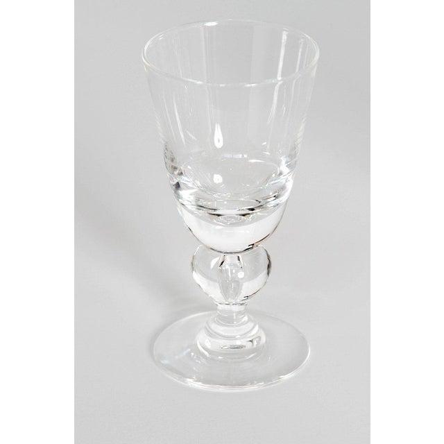Transparent Set of Fifteen (15) Steuben Baluster Water Goblets For Sale - Image 8 of 12