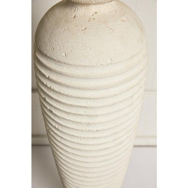 Plaster Vintage Plaster Sculptural Floor Lamp For Sale - Image 7 of 9