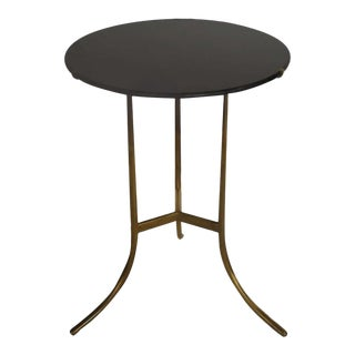 A Cedric Hartman Table With Black Granite Top For Sale