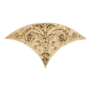 Three Piece Terracotta Frieze Philadlephia Circa 1870 - 3 Pieces For Sale