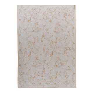 """Pasargad Aubusson Hand Woven Wool Rug - 8'10"""" X 12' 1"""""""