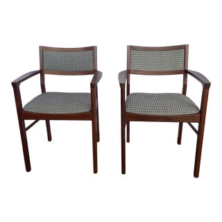 Mid-Century Jens Risom Chairs- a Pair For Sale