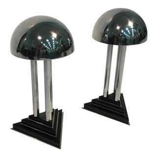 Art Deco Lamps - a Pair For Sale