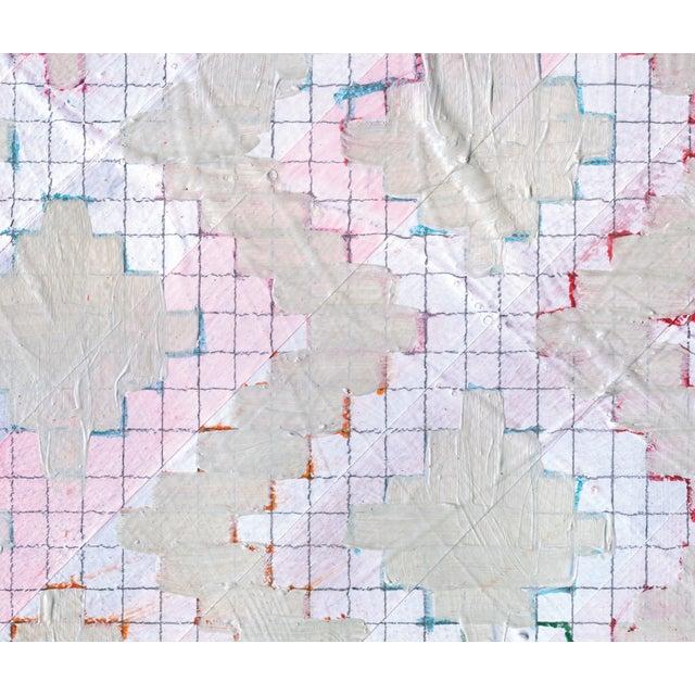 NY15 #18 Original Geometric Painting - Image 3 of 6