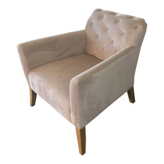 West Elm Walton Tufted Chair For Sale