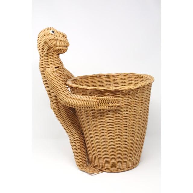 Figurative Mario Lopez Torres Monkey Waste Basket or Trash Can For Sale - Image 3 of 9