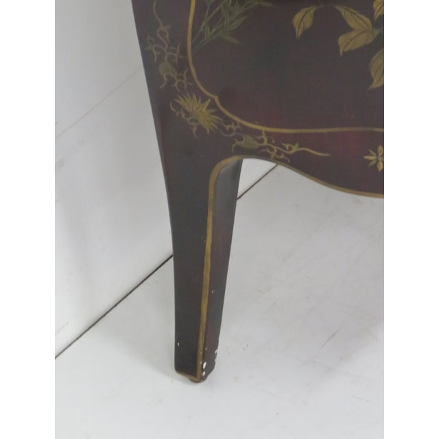French Chinoiserie Marble Top Commode - Image 7 of 7