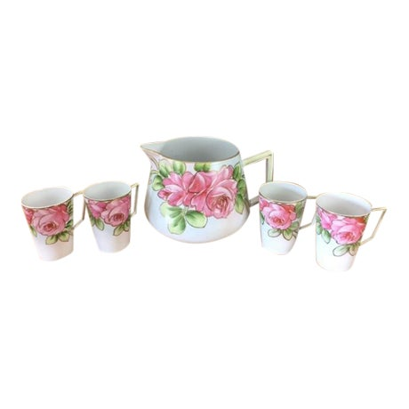 1920s Te-Oh Nippon China Lemonade Set - S/5 For Sale