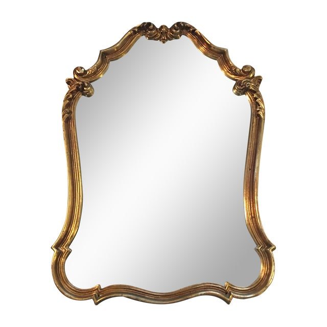 Gilded French Baroque Mirror - Image 1 of 8