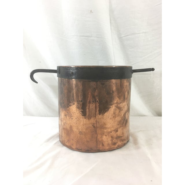 19th Century Copper Boiling Pot For Sale - Image 11 of 11