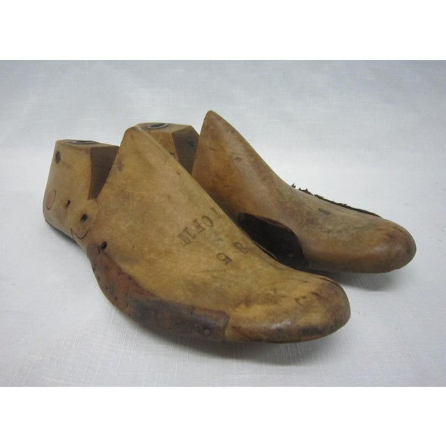 Wooden Shoe Forms- A Pair - Image 2 of 5