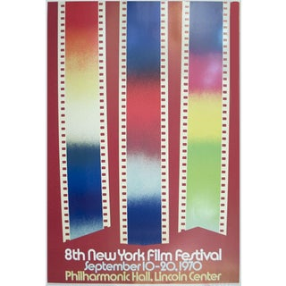 "James Rosenquist ""Short Cuts, 8th New York Film Festival"" 1970 Poster For Sale"