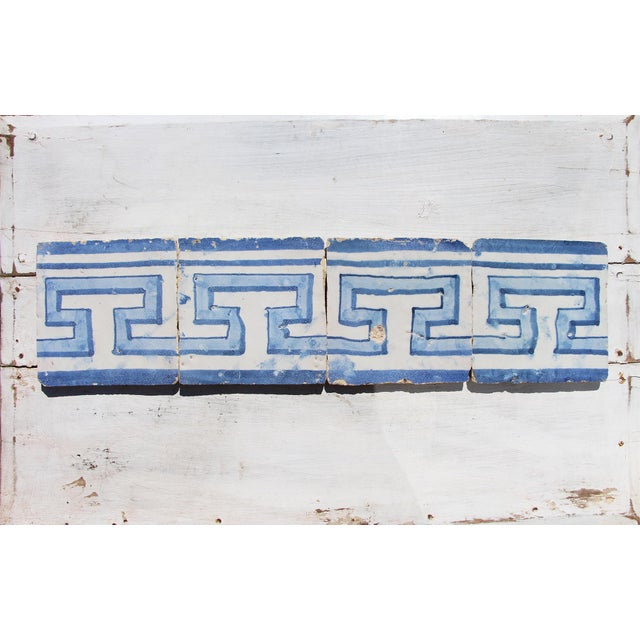 Baroque 18th Century Greek Style Baroque Tiles - Set of 4 For Sale - Image 3 of 13