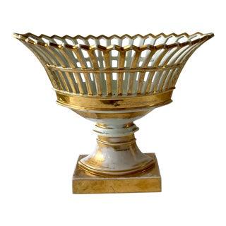 Mid 19th Century French Paris Ceramics Urn For Sale