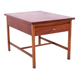 Paul McCobb for Lane Delineator Mid Century Walnut Side Table For Sale