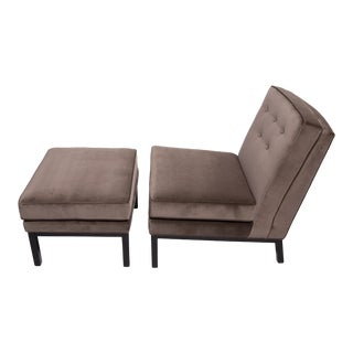 1950's Lounge Chair and Ottoman