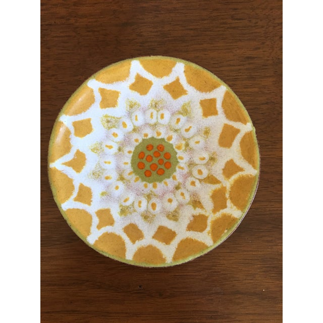 Contemporary Hand-Painted Trinket Tray For Sale - Image 3 of 6