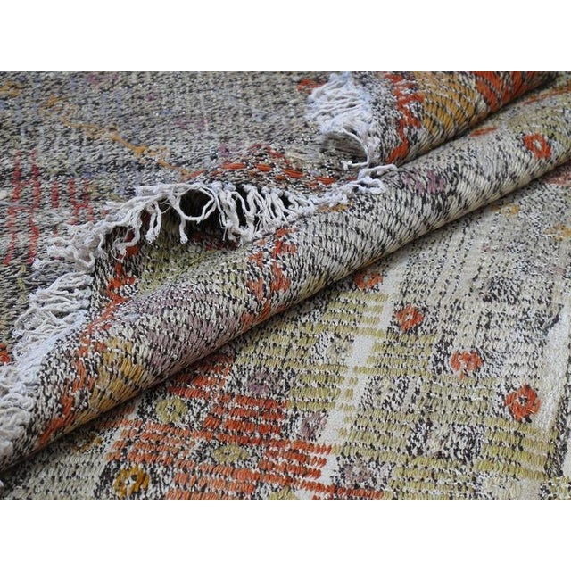 Textile Jijim with Subtle Colors and Design For Sale - Image 7 of 9