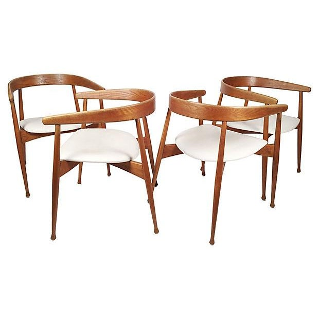 Danish Mid Century Modern Chairs - S/4 - Image 2 of 7