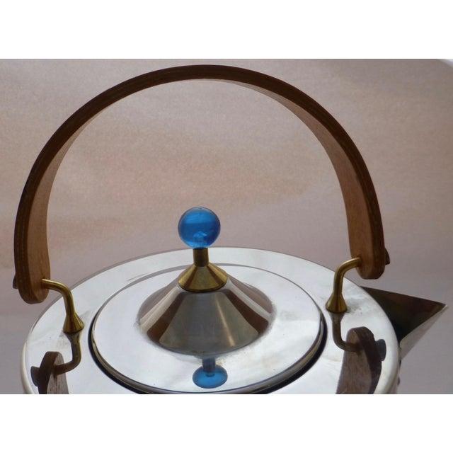 Danish Modern Vintage Carsten Jorgensen Danish Modern Bodum Osiris Teapot For Sale - Image 3 of 11