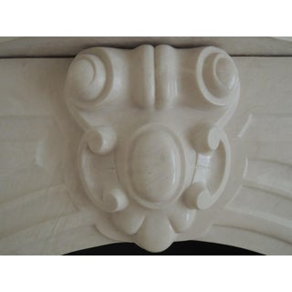 White Marble Fireplace Mantel Preview