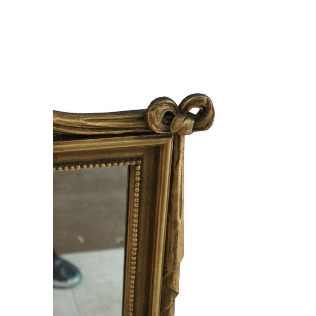 Gilded Tassel & Rose Mirror - Image 3 of 3