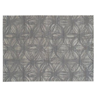 Stark Studio Rugs Contemporary New Oriental Tibetan Wool Rug - 10′ × 14′ For Sale