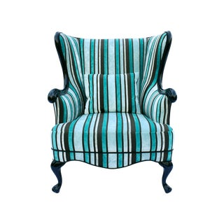 Vintage Round Wing Back Chair