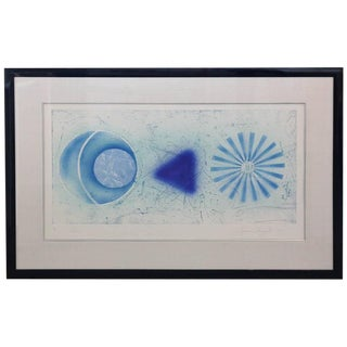 "Abstract Print Numbered 14 and signed by Pop Artist James Rosenquist, ""Rinse"", 1978"